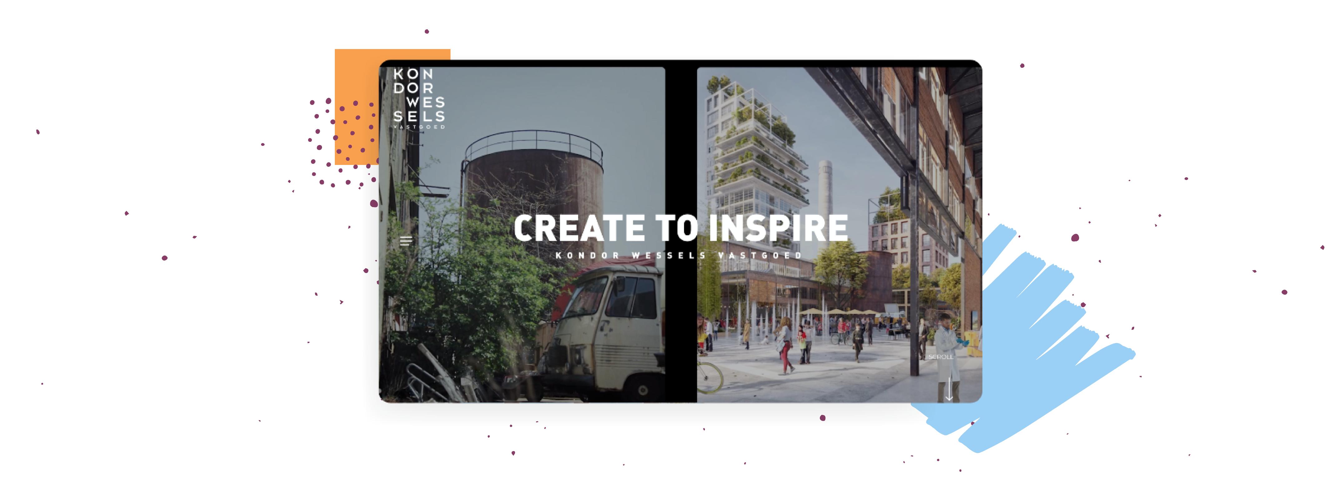 Create to inspire