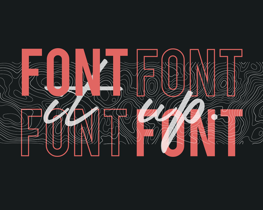 Font it up!